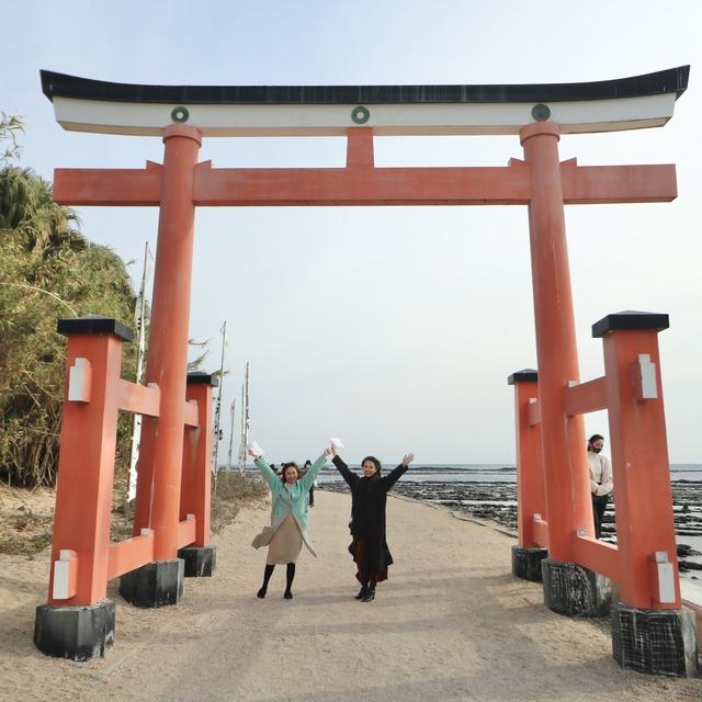 ORC福岡-宮崎便で行く女子旅。青島神社の鳥居。