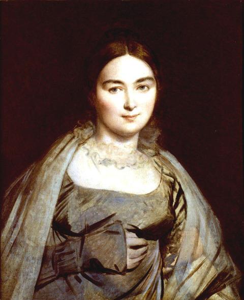 ㈰アングル夫人の肖像