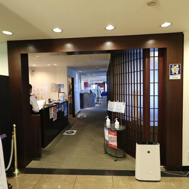 西鉄イン福岡13F「レストラン&バー ブロッソ」エントランス