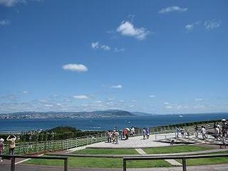 淡路島の青空