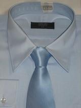 私のネクタイ4 青2 青Yシャツ