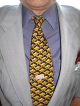 ボンさんのネクタイ