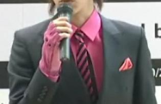 紫のネクタイ