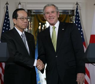 ネクタイの結び方 ネクタイの締め方 ブッシュ大統領 福田康夫