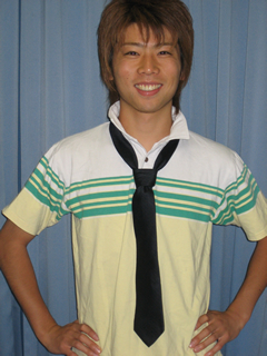 学生のネクタイの締め方 ネクタイの結び方 環境ビジネス 弟ゴー