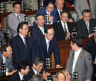 福田康夫 首相のネクタイの締め方 ネクタイの巻き方