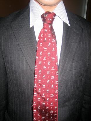 ネクタイ 締め方 結び方 巻き方 縛り方 昆虫ののネクタイ