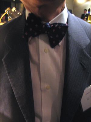 弁理士のネクタイの締め方 ネクタイの結び方 蝶ネクタイ
