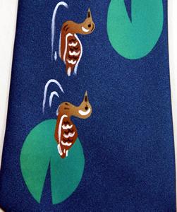 手作りネクタイ 手づくりネクタイ ネクタイの巻き方 平井守7