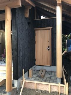 いちご島の家 木製建具