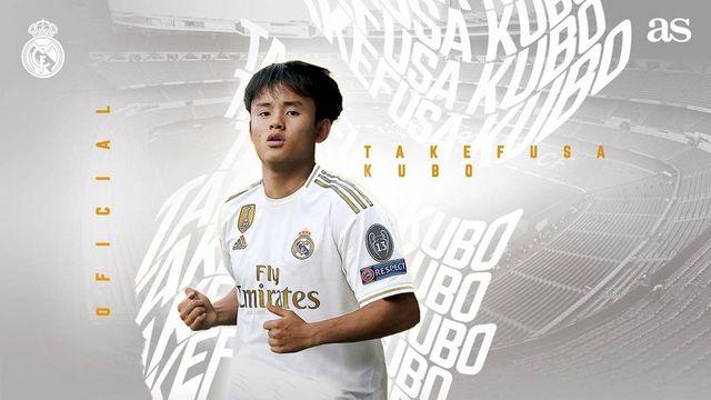 FC東京 久保建英選手 レアル・マドリードへ完全移籍。Rマドリー新ユニフォームも予約開始中  Japanican