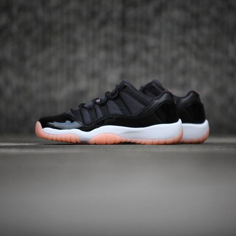 detailed look 2e197 bf8ed 4 7発売 Air Jordan 11 Low Black Bleached Coral 580521-013   Japanican