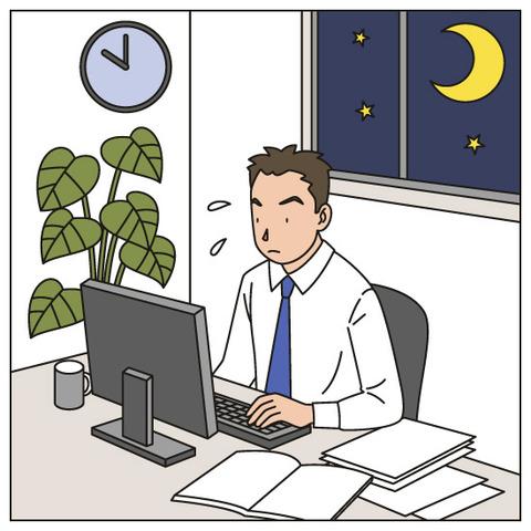 残業 に対する画像結果