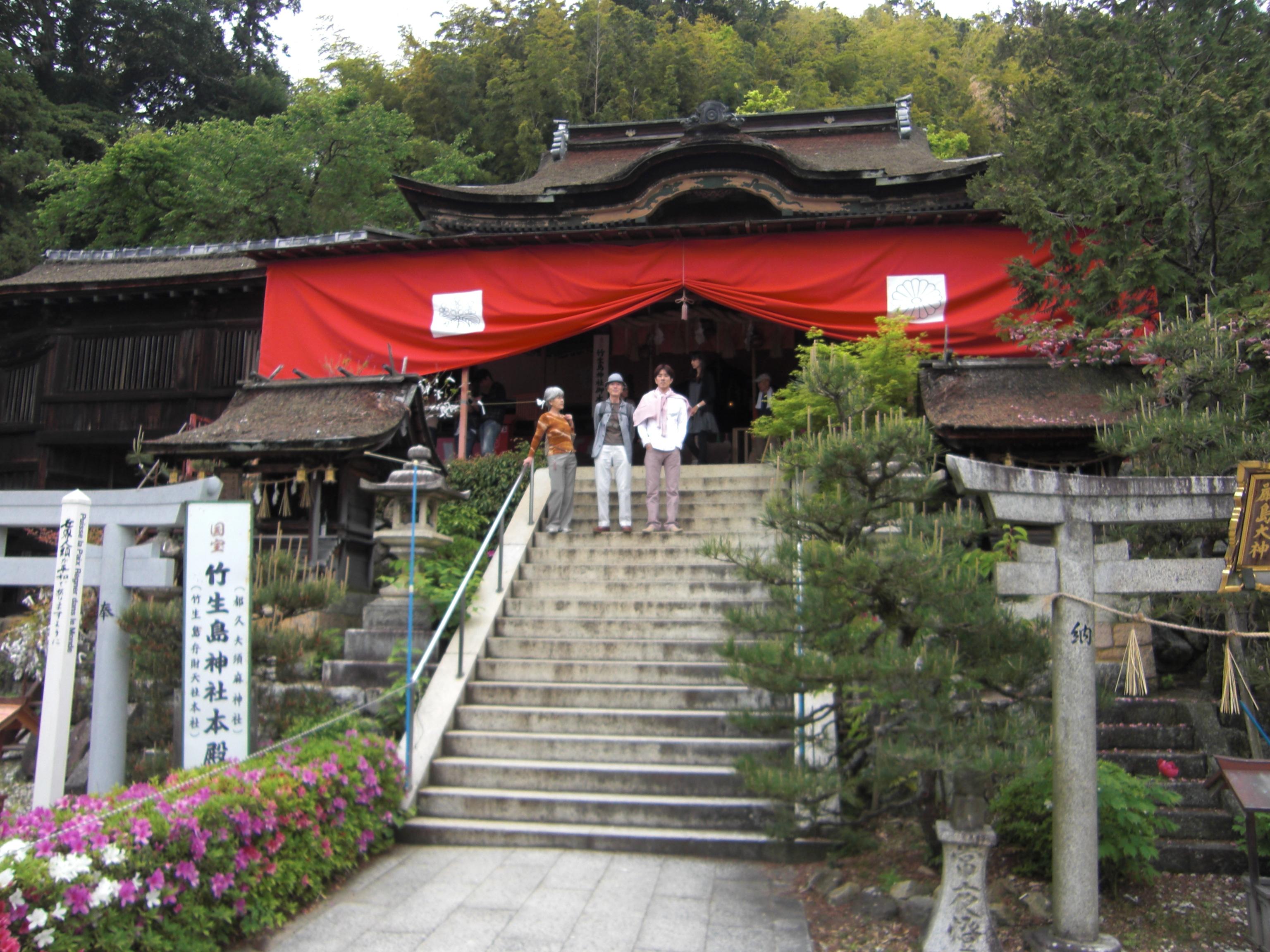 都久夫須麻神社・本殿