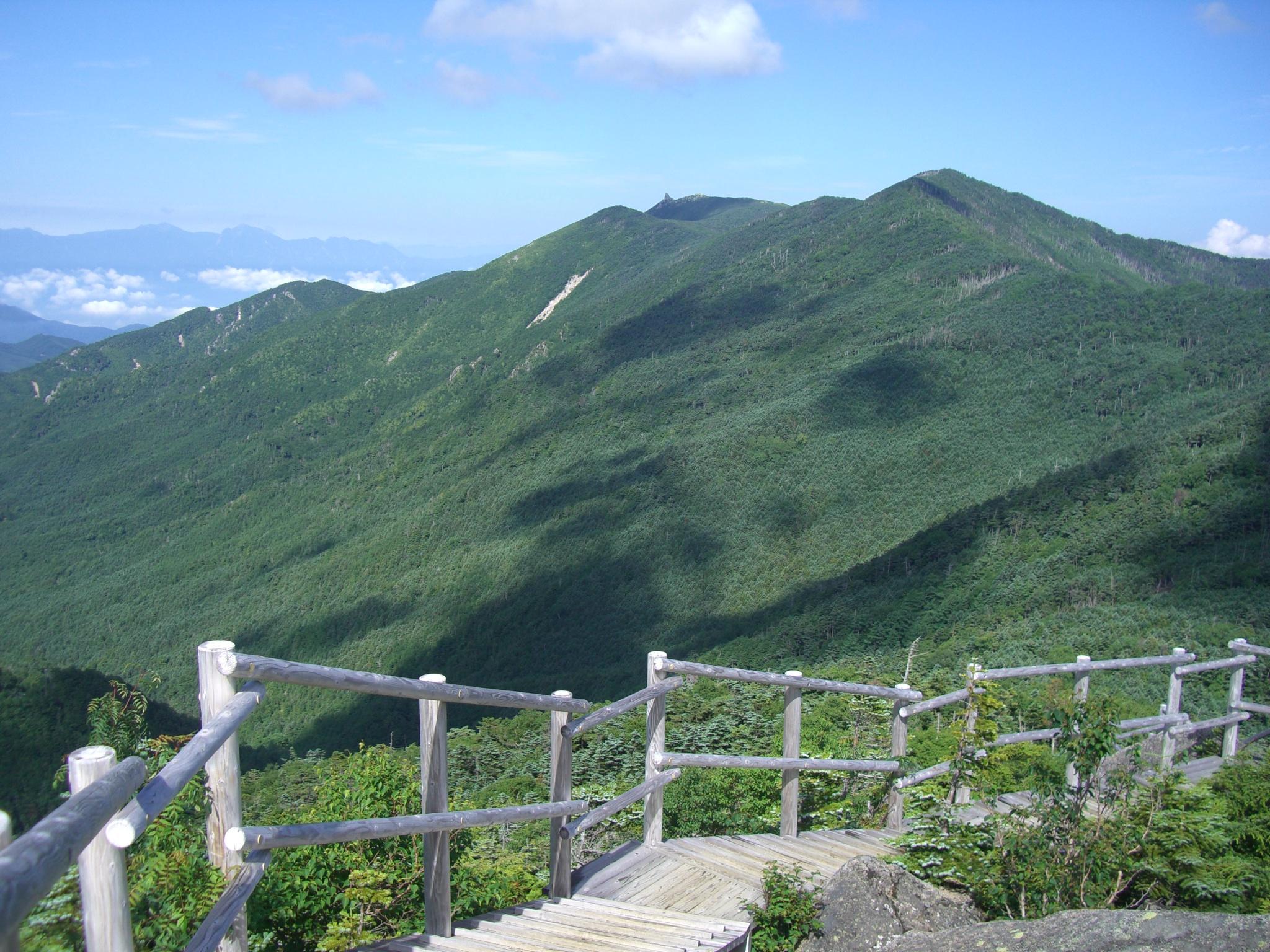 山旅日記 : 国師ヶ岳~北奥千丈...