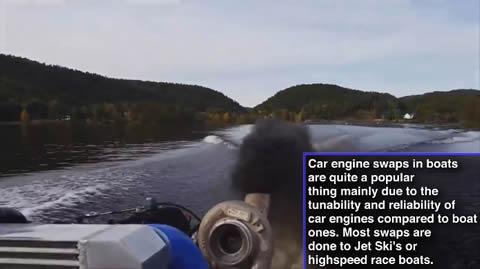 異種スワップ!ボートに車のエンジン積んじゃいました映像集