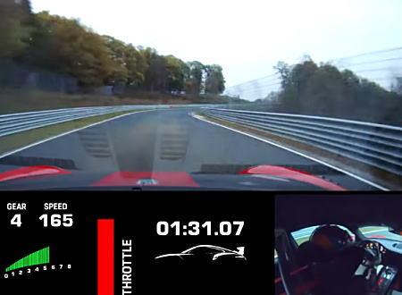 ポルシェ・911 GT2 RS MRがニュルブルクリンクの市販車最速記録を樹立。そのフルラップ映像。