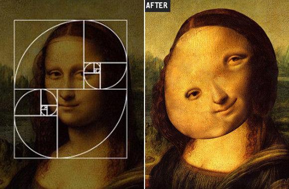 人が嫌でも美しいと感じてしまう「黄金比」で著名人の顔を整形してみた。こうなった...