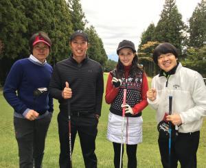 橋本マナミとゴルフを楽しむ河村隆一 全盛期の面影なく「太ったな~」の声