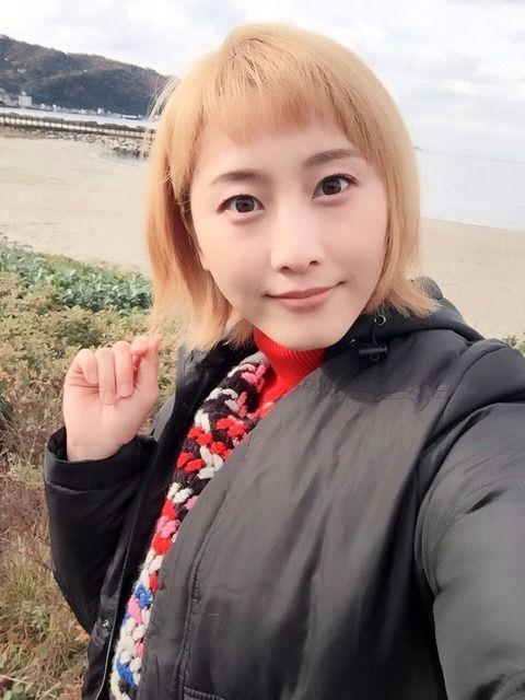 元SKE松井玲奈さん、金髪にするも識者からの指摘を受け1か月で黒髪に