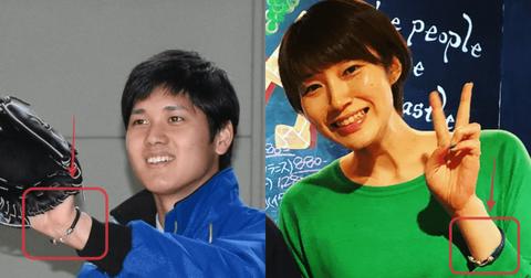【衝撃速報】大谷翔平と元バレーボール選手の狩野舞子が入籍の模様・・・