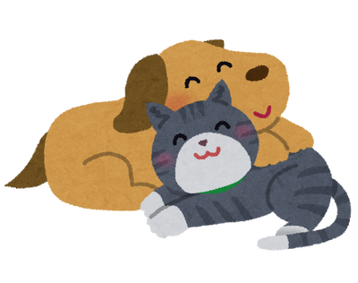 【悲報】犬が猫に勝てる部分、なにもない