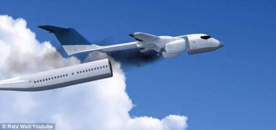 【画像】究極に安全な飛行機 → 操縦士どうすんだよwwwww