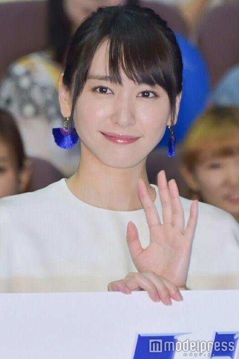 10年代3大美女→新垣結衣、橋本環奈、石原さとみ