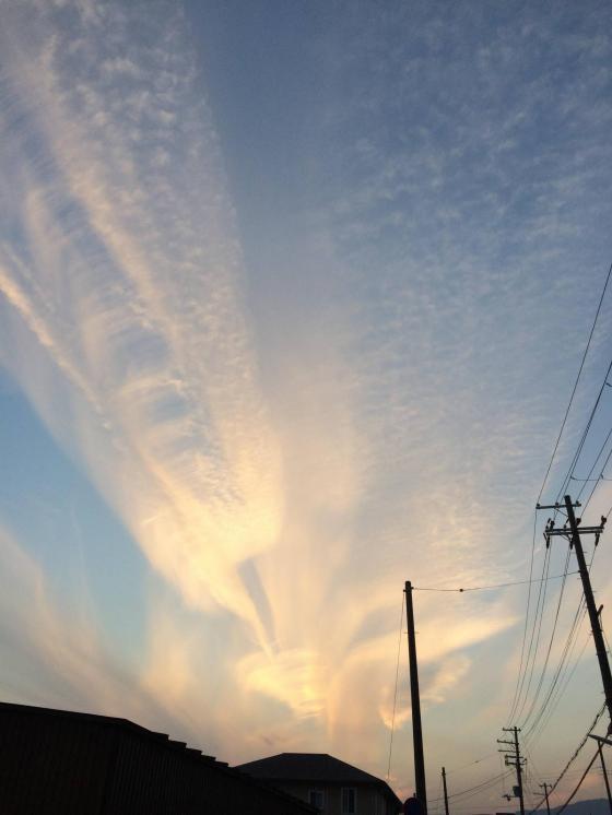 空が美しかったので撮影した結果WWW