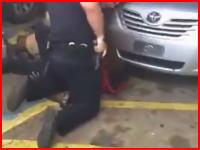 ルイジアナ州で捕らえた黒人を警官が射殺。映像が複数ネットに投稿され抗議活動に発展。
