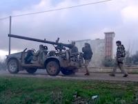 発射したこちら側も被害を受ける106mm砲。アッラーフアクバル動画。