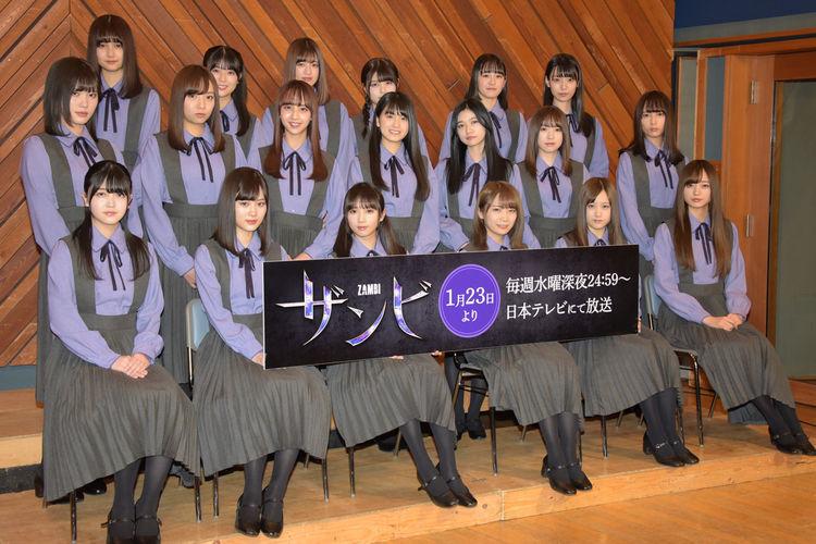 ドラマ「ザンビ」全キャスト発表!乃木坂46から21名、3期生は総出演