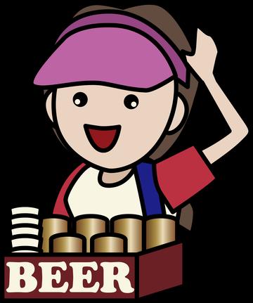 【朗報】野球場のビールの売り子さん、普通にレベルが高すぎる
