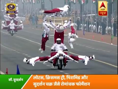 ハイッ!!インド・第68回共和国記念日パレードが相変わらず凄い