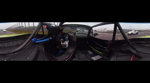対応ブラウザかスマホから見よう!Mazda Max5 Cup ザントフォールト 360度映像