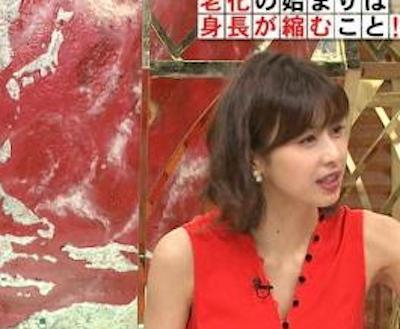 【最新画像】加藤綾子アナのお●ぱい&ワキがエ□すぎる【ホンマでっか!?TV】