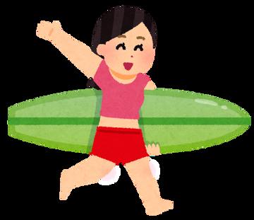 深田恭子「おばさんだけど水着でサーフィンしちゃおっかな☆」