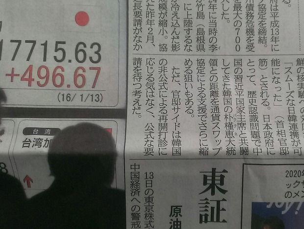【速報】日本政府、日韓通貨スワップ協定の再開を決定!!