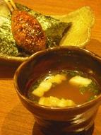 ご飯と味噌汁