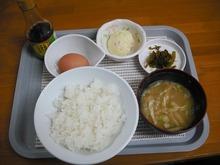 TKG卵かけご飯(350円)