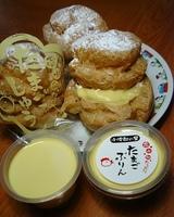 チョ〜濃厚なシュークリーム&プリン