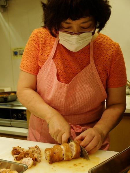 鶏肉のケチャップ煮3