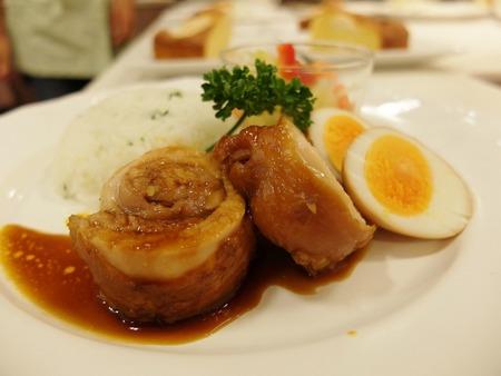 鶏肉のケチャップ煮4