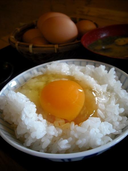 卵かけご飯定食@小次郎の里