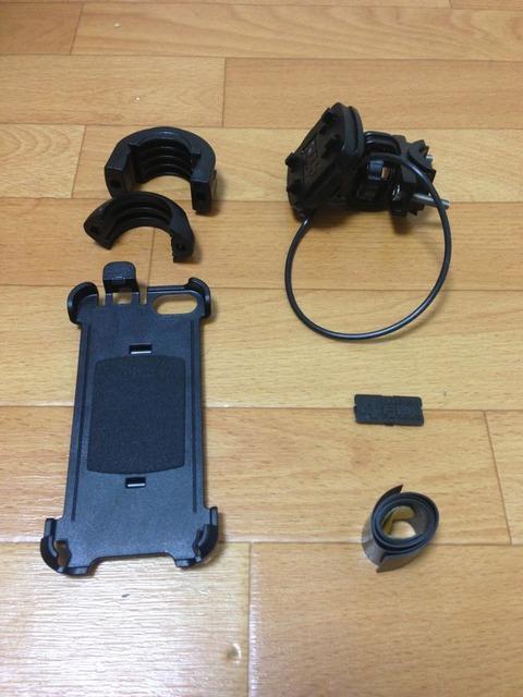 iPhone5 バイク(サイクル)用ハンドルマウント