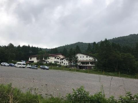 奥志賀スーパー林道 志賀高原あたりのスキー場