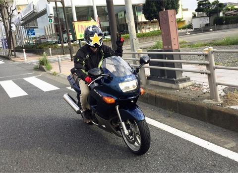 箱根と忍野と道志とZZR400と