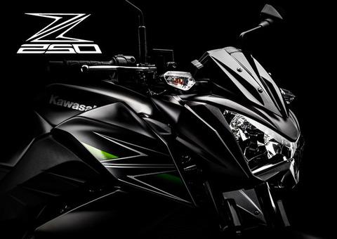 Kawasaki Z250!