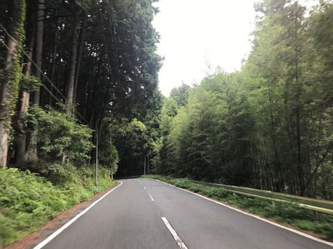 県道9号をさらに北へ北へ