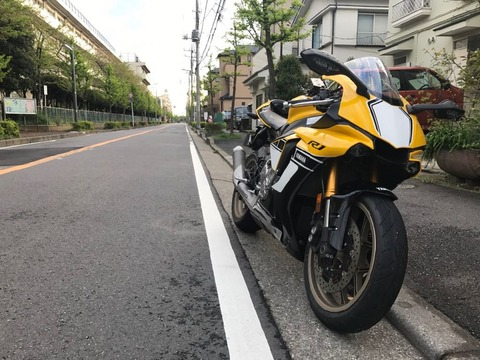 2016(2015) YZF-R1 インプレ